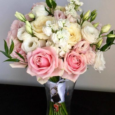 Countyr wedding Bridal bouquet
