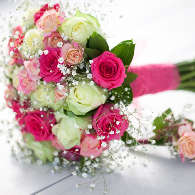 Wedding Flower Packages Cheap: Intimate Bridal Party Flower Package $550.00