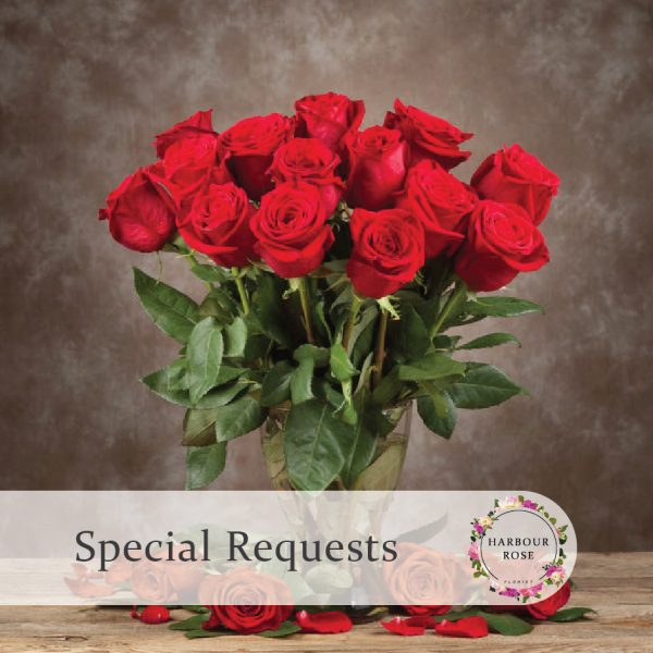 Gorgeous boquet of red roses