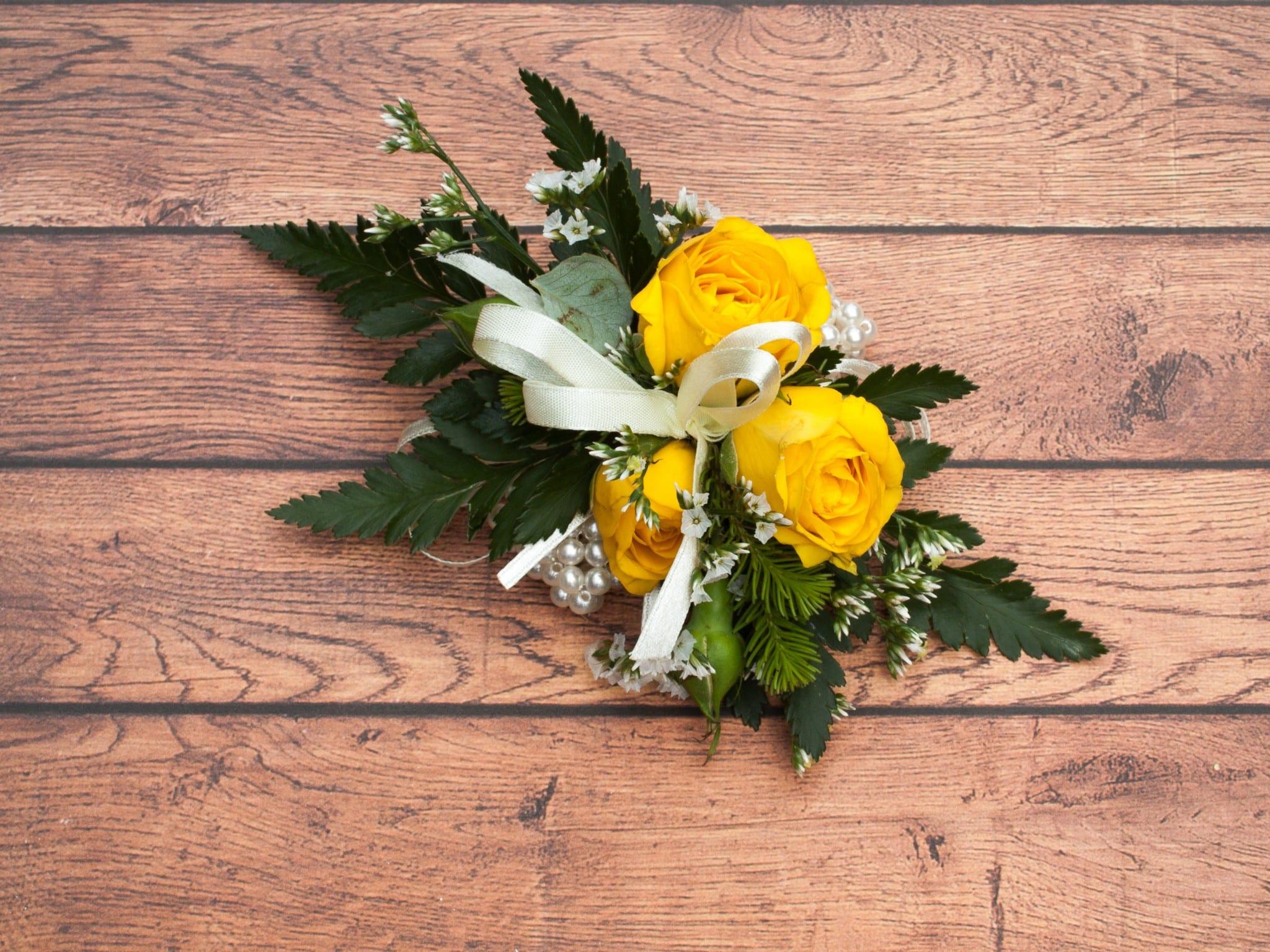 Wrist Corsage For School Ball Harbour Rose Florist