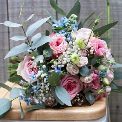 Bridesmaid's bouquet with natural garden style design