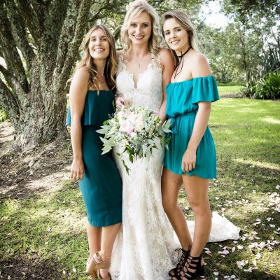 Bridal bouquet in soft pastels