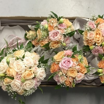 Wedding Bouquets ready for delivery