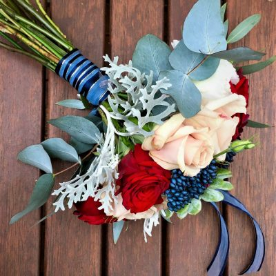 Beautiful bridesmaid's bouquet