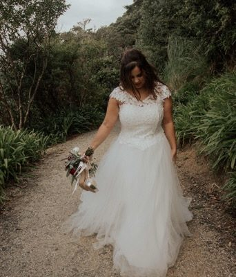 Miriama and Josh's wedding flowers
